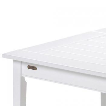 ALOSSO.design - Skagerak Denmark Gartentisch 86 cm DRACHMANN weiß